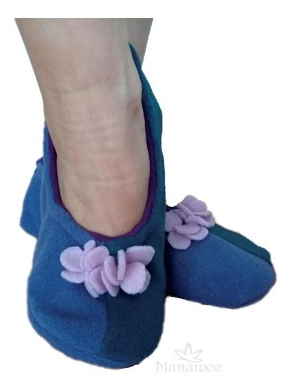 Pantuflas Ballerina Manawee Mujer