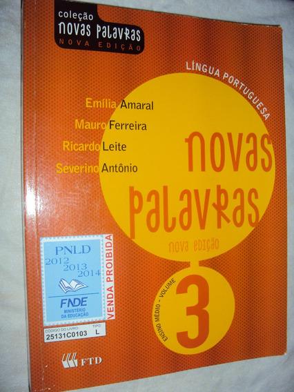 Coleção Novas Palabras: Língua Portuguesa Ensino Médio Volum