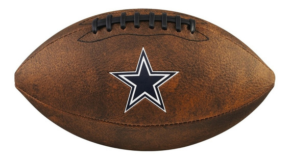 Bola De Fut. Americano - Nfl®jr Trowback Team - Dallas Cowbo