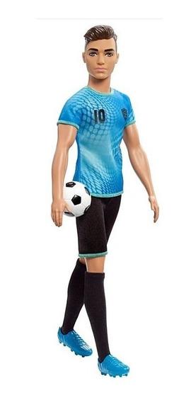 Barbie Ken Fashionista Profissões Jogador De Futebol Fxp02