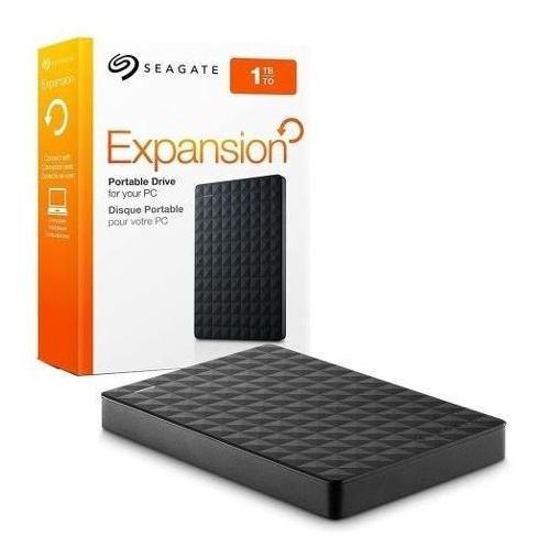Hd Externo 1 Tb Seagate 2.5 Usb 3.0 Preto Envio Em 24h
