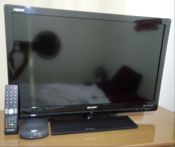 Tv 32 Led Sharp Aquos Full Hd Com Conversor Digital