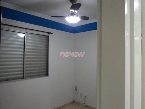 Apartamento À Venda, 2 Quartos, 1 Vaga, Ortizes - Valinhos/sp - 8696