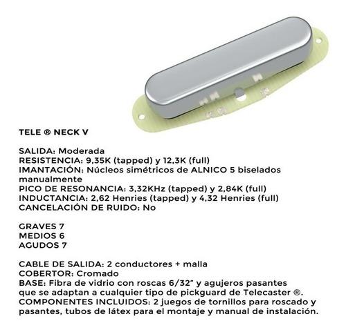 Imagen 1 de 7 de Micrófono Ds Pickups Ds21 Electrica Telecaster
