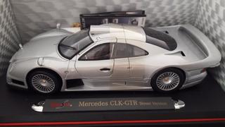 Miniatura De Veículo Mercedes Benz Clk Gtr
