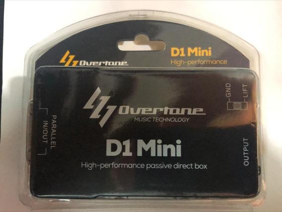 3 Unidadades Direct Box Overtone Mini