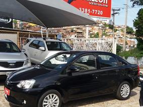 Toyota Etios Sedán 2016 Xls 1.5 Flex Unico Dono Multimidia