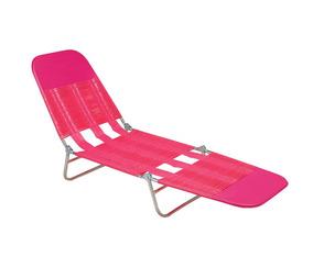 Cadeira Espreguiçadeira Pvc Rosa - Mor