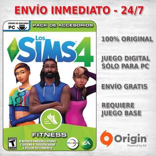Los Sims 4 Fitness Juego Pc Original Expansion Accesorios