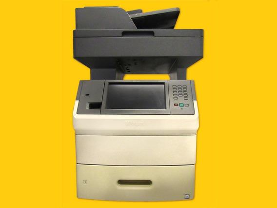 Impressora Multifuncional Monocromática Lexmark X656de