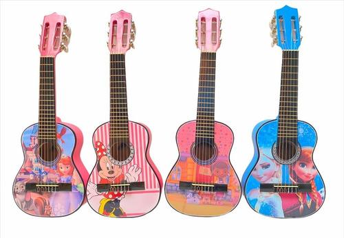 Guitarras Niños Hasta 7 Años + Forro+metodo Aprendizaje