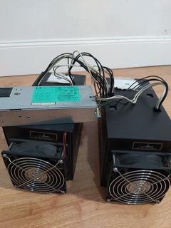 Combo 2 Mineros Antminer S3 + Fuente Permite Minar Bitcoins