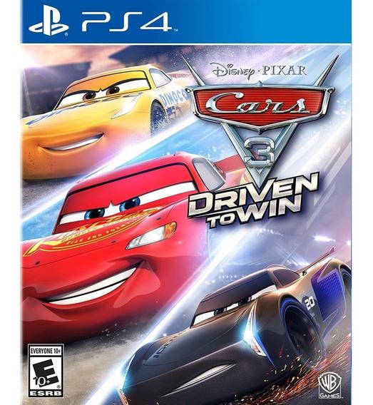 Cars 3: Driven To Win Ps4 Mídia Física