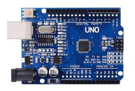 Compatível Arduino Uno R3 Atmega328 Smd Sem Cabo Usb Maker