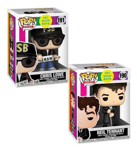 Funko Pop Pet Shop Boys Neil Tennant 190 + Chris Lowe 191