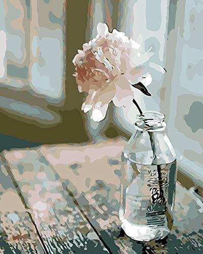 Imagen 1 de 7 de Colorwork Diy Pintura Por Numeros, Lienzo De Pintura Al Oleo