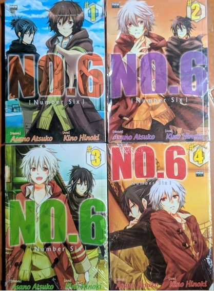 Number Six Volumes 1 Ao 4