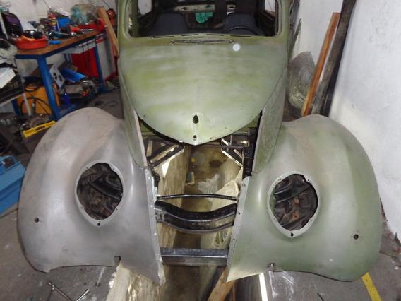 Ford 1937 - Para Continuar Restauração