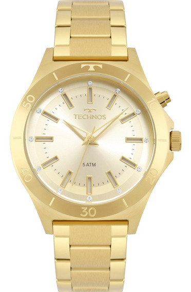 Relógio Feminino Technos Fashion Dourado Y121e3aa/4x