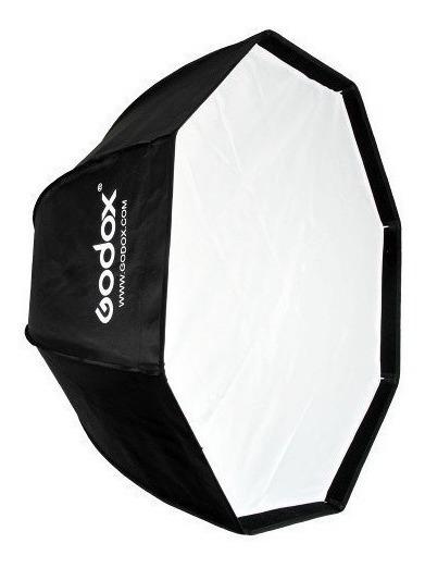Softbox 95cm Universal Octabox Para Flashes E Luz Continua