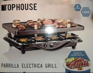 Parrilla Eléctrica Grill Top House