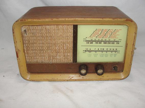 Antigo Radio A Valvula ***não Funciona*** Década De 50