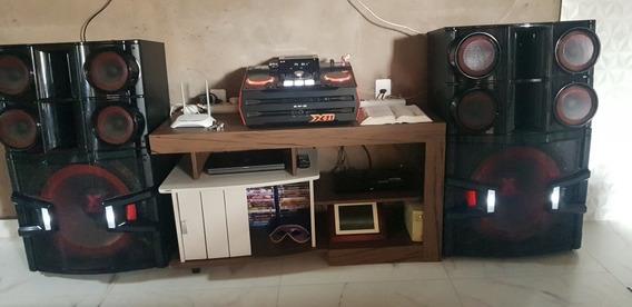 Som Mini System Lg X Boom Cm9940 Xboom