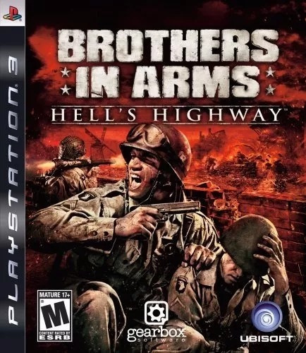 Brothers In Arms Playstation 3 Ps3 Mídia Física Original
