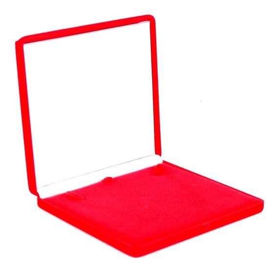 Caixa Porta Colar Vermelha