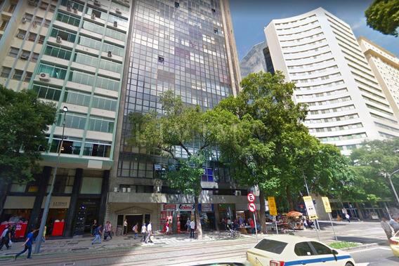 Sala Comercial À Venda Na Avenida Rio Branco 45, Centro, Rio De Janeiro - Rj - Liv-2471