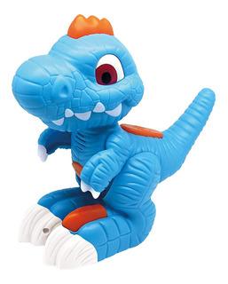 Juguete Dinosaurio Interactivo Megasaur Luz Y Sonido Repite
