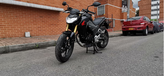 Honda Cb190r Negro