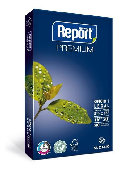 Resmas Report Oficio 75 Grs Caja X10 Unidades