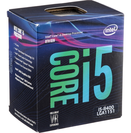 Processador Intel Core I5-8400 2.8ghz Coffee Lake Lga 1151