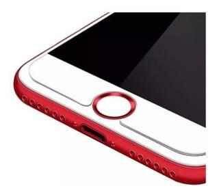 Adesivo Botão Home Touch Id iPad iPhone 5 5s 6 6s 7 8 Plus