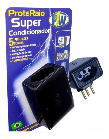 Proteraio Super Protetor Tv Pc Com Temporizador 127v Pw