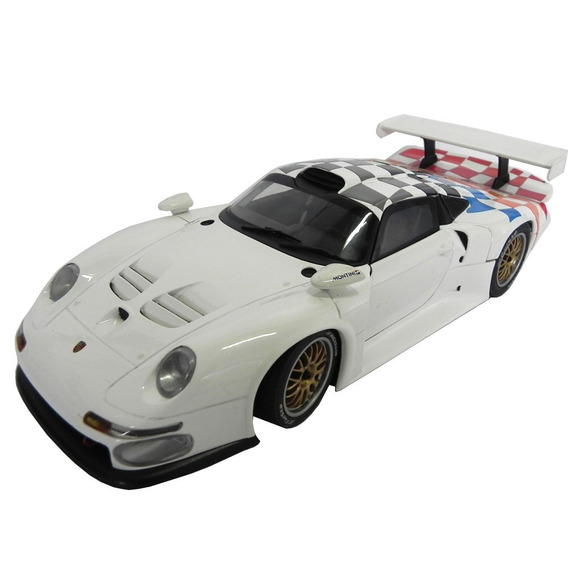 Porsche 911 Gt 1997 Personalizado 1/18 Ut Models