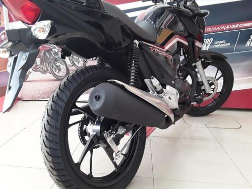 Nova Honda Cg 160 Titan Flex 2021 Cbs Painel Digital -