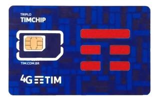 Kit 10 Chips Tim 4g Melhor Preço***