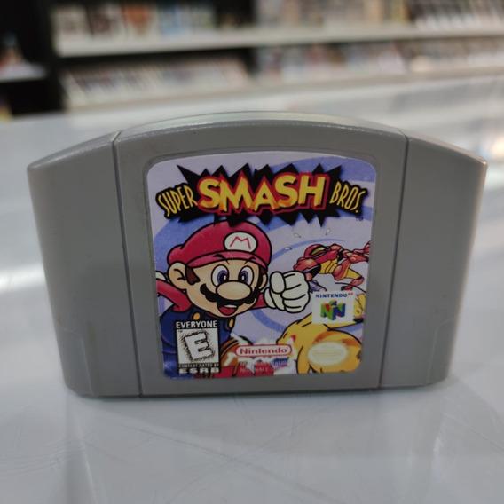 Super Smash Bros Nintendo 64 Original