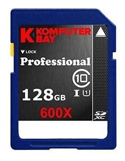 Cartão Sd Komputer Bay 128gb Sdxc Sd Class 10 600x Uhs-i