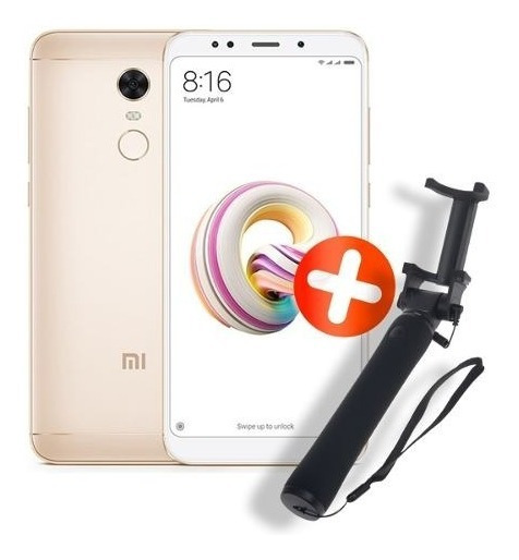 Xiaomi Redmi 5 Plus + Selfie Stick 3.5 Original