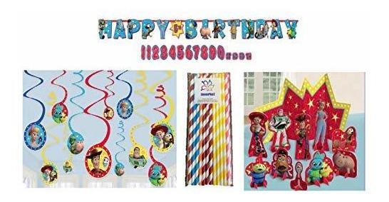 Toy Story Kit De Decoración Para 4 Fiestas: Kit De Decoració
