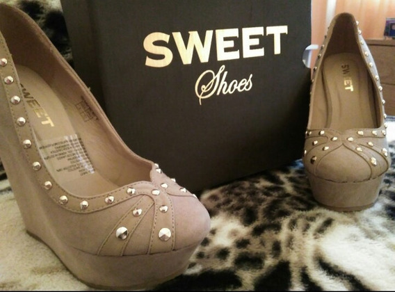 Zapatos Con Plataforma Sweet - Talle 37