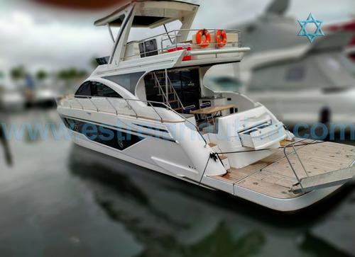 Lancha Sedna 60 Barco Iate N Azimut Fishing Cimitarra