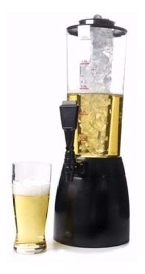 Dispenser Chopera 2.5l Bebidas Tubo Enfriador Base 360 Girat