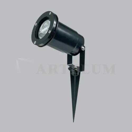Imagen 1 de 3 de Spot Jabalina Dura 1 Exterior Gu10 Aluminio Led Ip44 Artelum