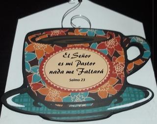 Tacita Decorativa Con Imán