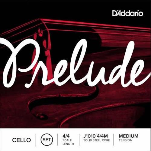 Cuerdas Para Violoncello D'addario  Modelo Prelude 4/4