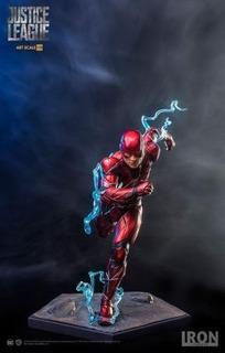 Flash- Iron Studios - Art Scale 1/10 - Justice League -